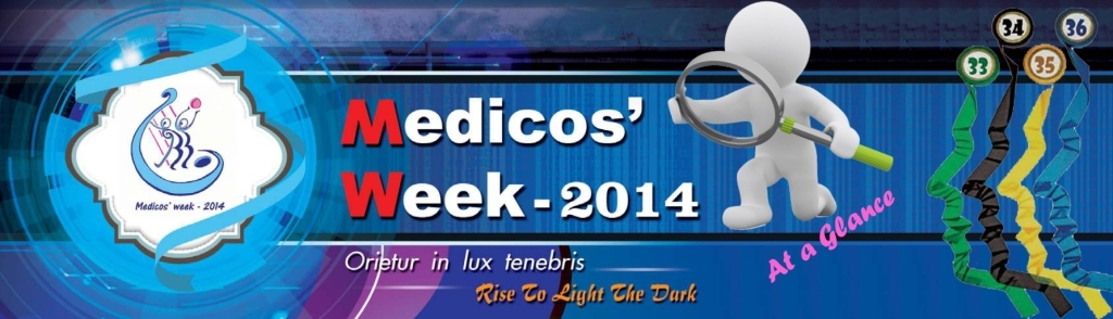 Medicos' Week at a glance