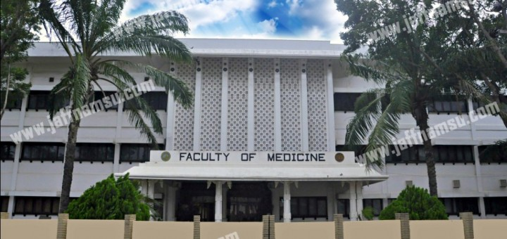 Medical Faculty front View